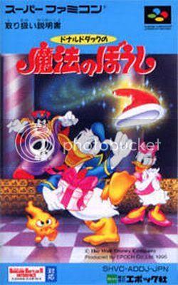 Los Mejores 100 juegos de Super Nintendo en Portables PC DonaldDucknoMahounoBoushi_front