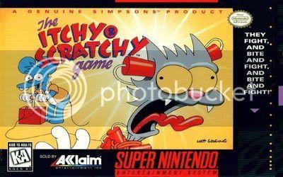 Los Mejores 100 juegos de Super Nintendo en Portables PC Itchy___Scratchy_Game