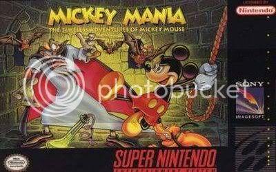Los Mejores 100 juegos de Super Nintendo en Portables PC MickeyMania_SNES