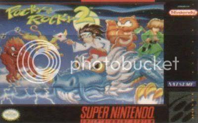 Los Mejores 100 juegos de Super Nintendo en Portables PC PockyyRocky2front-1