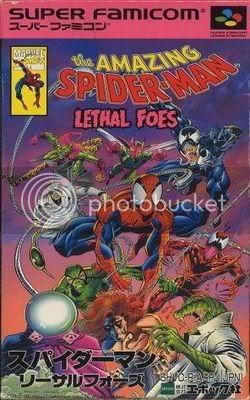 Los Mejores 100 juegos de Super Nintendo en Portables PC Spider-ManLethalFoesTheJaponE9s