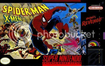 Los Mejores 100 juegos de Super Nintendo en Portables PC Spider-ManX-Men-vgo