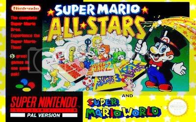 Los Mejores 100 juegos de Super Nintendo en Portables PC SuperMarioAllStarsyWorld