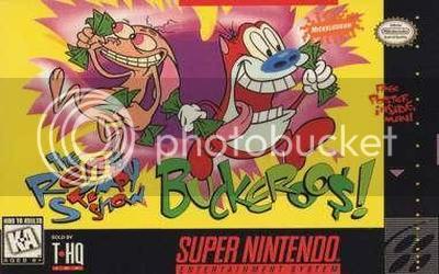 Los Mejores 100 juegos de Super Nintendo en Portables PC TheRenStimpyShow-BuckarooUSApril1995front