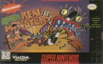 [Portable] AAAHH!!! Real Monsters [Super Nintendo] Ahhrealmonster_front