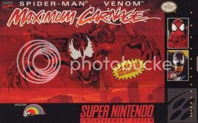 Los Mejores 100 juegos de Super Nintendo en Portables PC Spiderman-maximum-carnage-box-front1