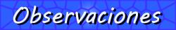 Listas y temas relacionados con intermediarios Observaciones