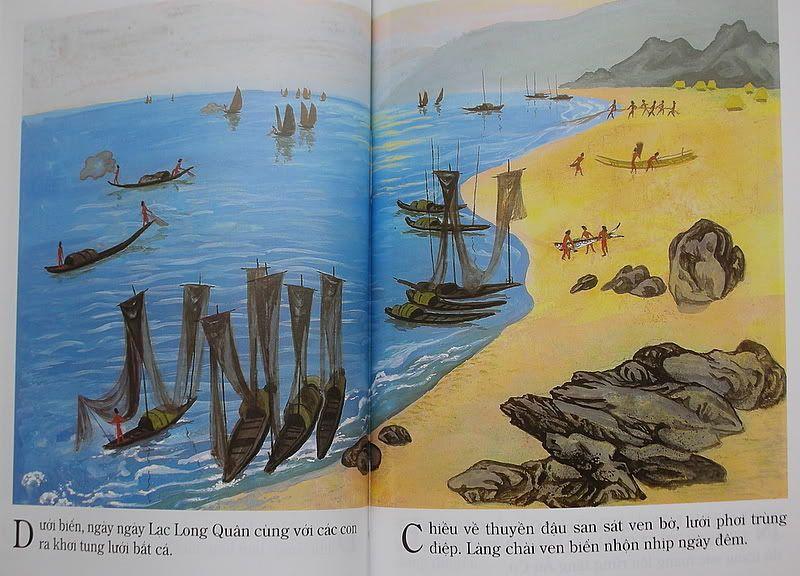 Âu Cơ - Lạc Long Quân - Truyện tranh LLQAC35