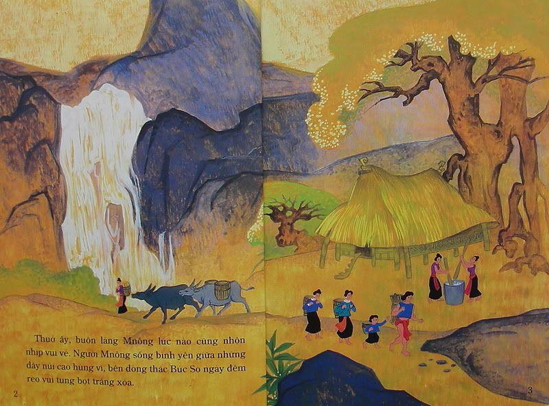 Chàng Đăm Bri - Truyện tranh TruyenDG034