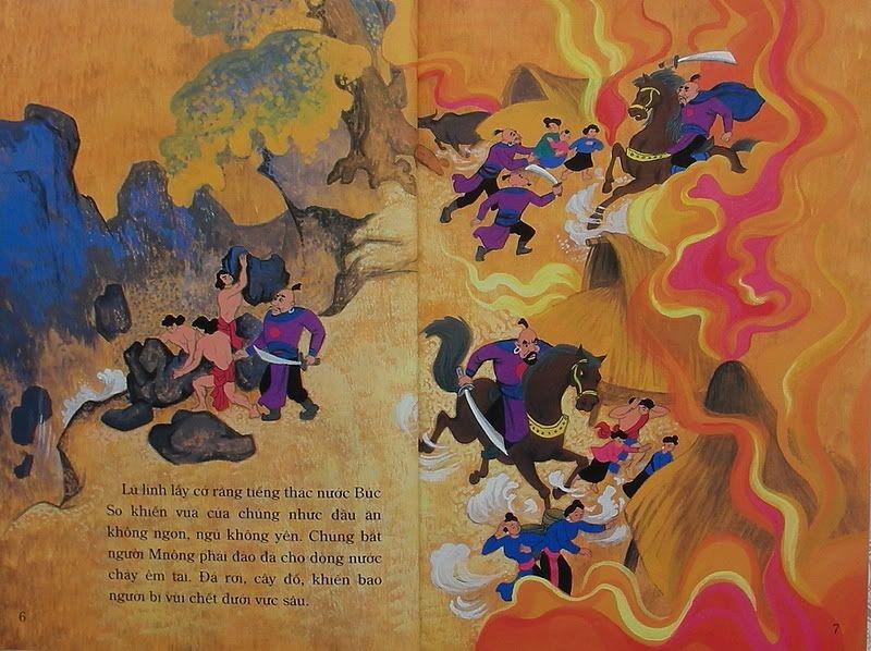 Chàng Đăm Bri - Truyện tranh TruyenDG036