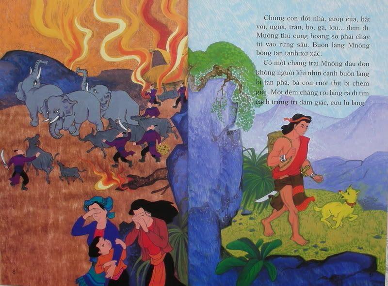 Chàng Đăm Bri - Truyện tranh TruyenDG037
