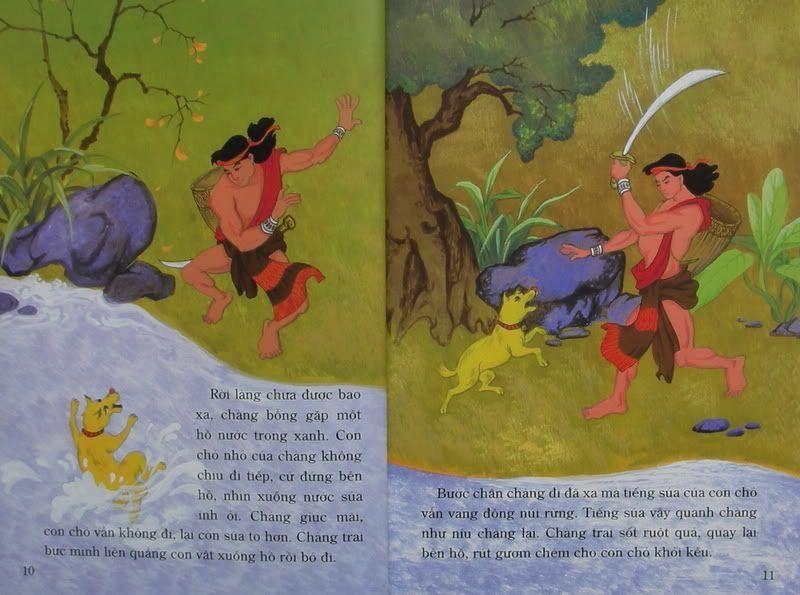 Chàng Đăm Bri - Truyện tranh TruyenDG038