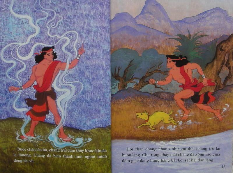 Chàng Đăm Bri - Truyện tranh TruyenDG040