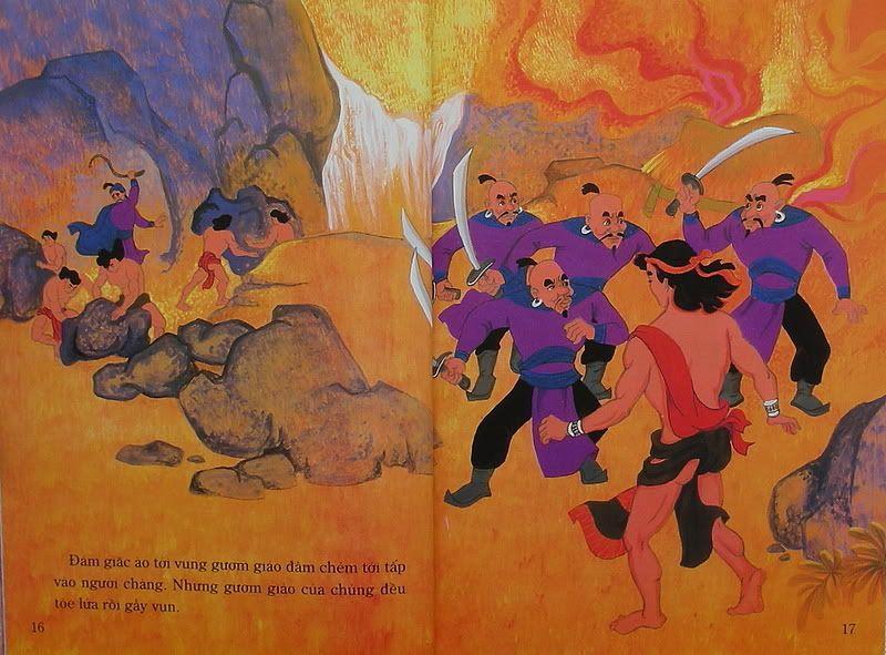 Chàng Đăm Bri - Truyện tranh TruyenDG041