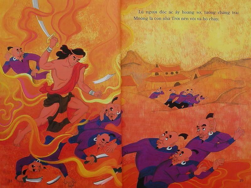 Chàng Đăm Bri - Truyện tranh TruyenDG042