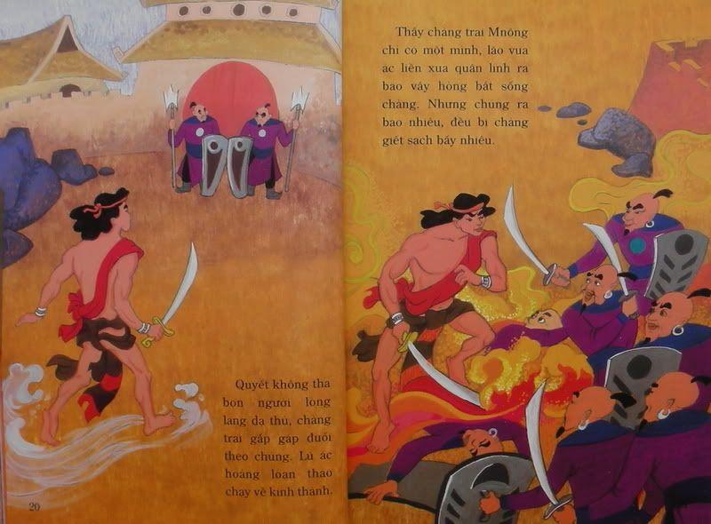 Chàng Đăm Bri - Truyện tranh TruyenDG043