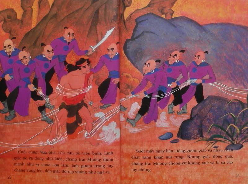 Chàng Đăm Bri - Truyện tranh TruyenDG044