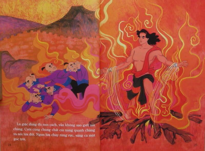 Chàng Đăm Bri - Truyện tranh TruyenDG045