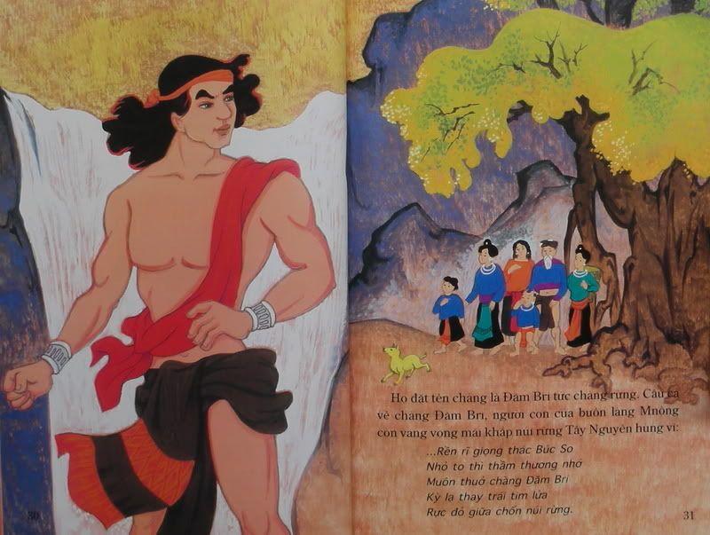 Chàng Đăm Bri - Truyện tranh TruyenDG048