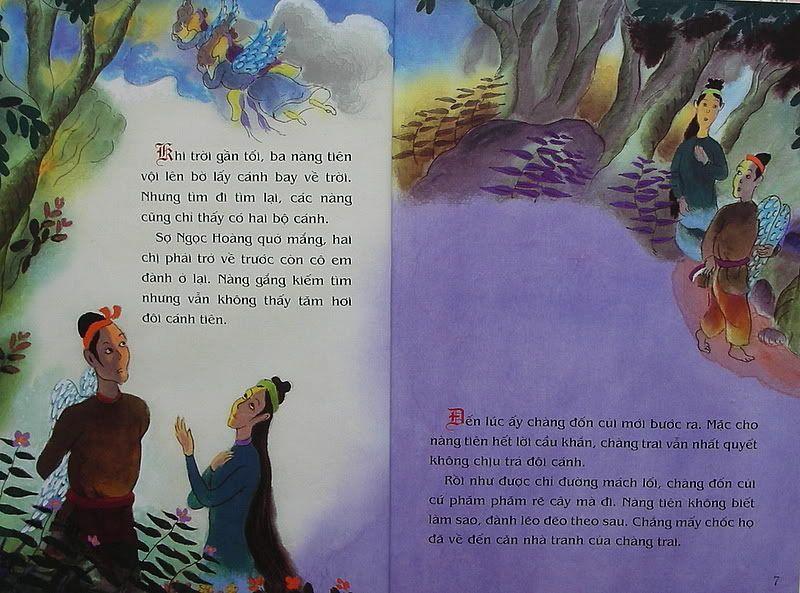 Ngưu Lang Chức Nữ - Truyện tranh TruyenDG020