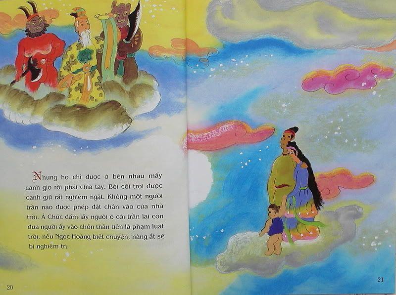 Ngưu Lang Chức Nữ - Truyện tranh TruyenDG027