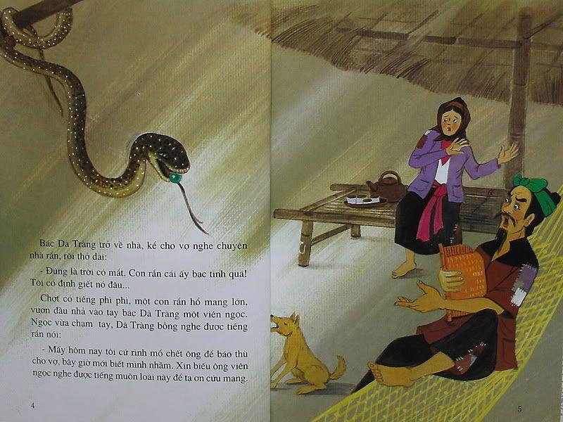 Sự tích con Dã Tràng - Truyện tranh TruyenDG003