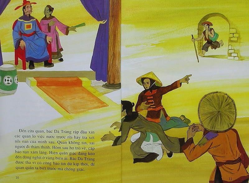 Sự tích con Dã Tràng - Truyện tranh TruyenDG006