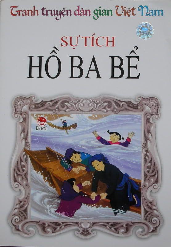 Sự tích Hồ Ba Bể - Truyện tranh HBB
