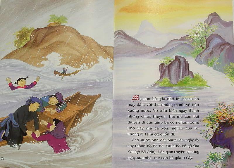 Sự tích Hồ Ba Bể - Truyện tranh HBB11