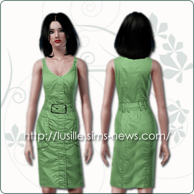 :: FINDS SIMS 3: JUNIO - 2010 :: Casualdress