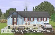 :: FINDS SIMS 3: JUNIO - 2010 :: ColorfulFarmhouse-1-1