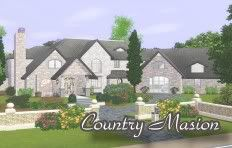 :: FINDS SIMS 3: JUNIO - 2010 :: CountryMasion-1-1