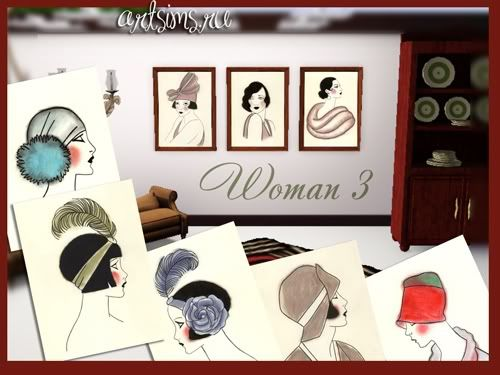 :: FINDS SIMS 3: JUNIO - 2010 :: Woman-3