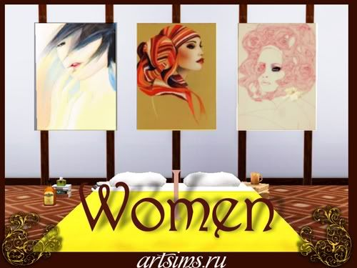 :: FINDS SIMS 3: JUNIO - 2010 :: Women1