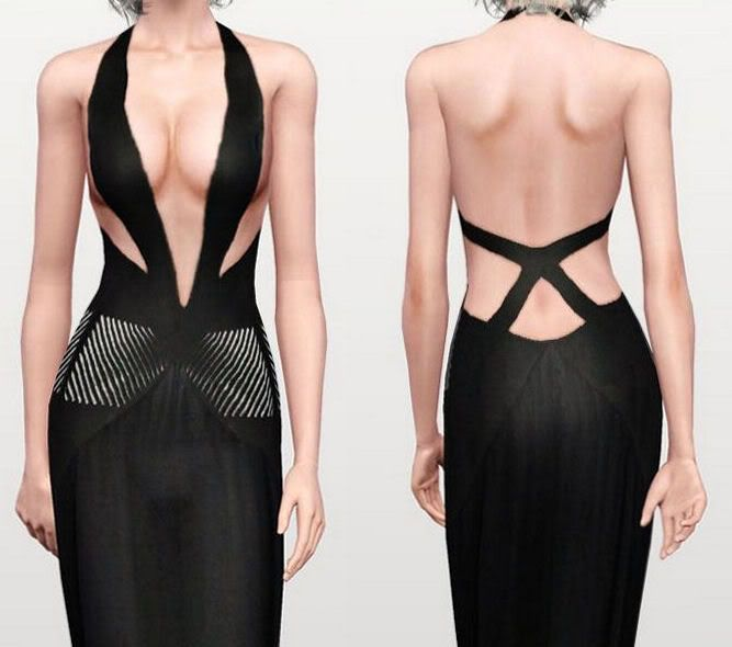 :FINDS SIMS 3: MAYO 2010 : Vestido22