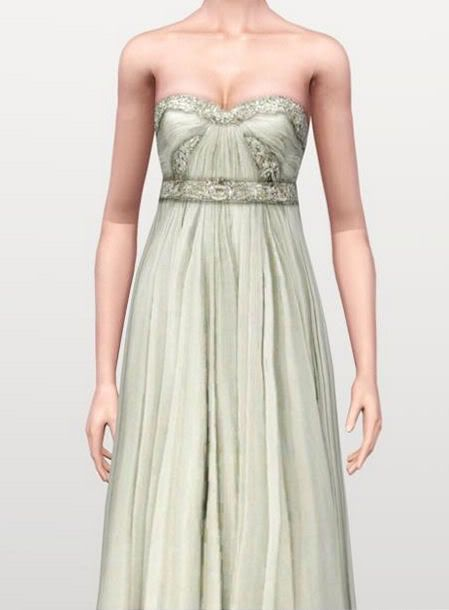 :FINDS SIMS 3: MAYO 2010 : Vestido3