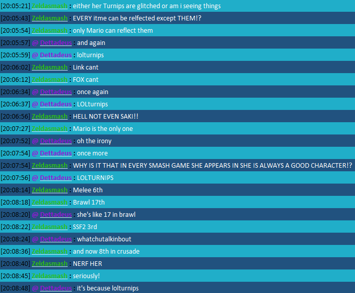 The New Chat FTW Thread Becauselolturnips