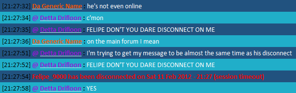 The New Chat FTW Thread Disconnect