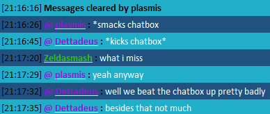 The New Chat FTW Thread Kickingthechatbox