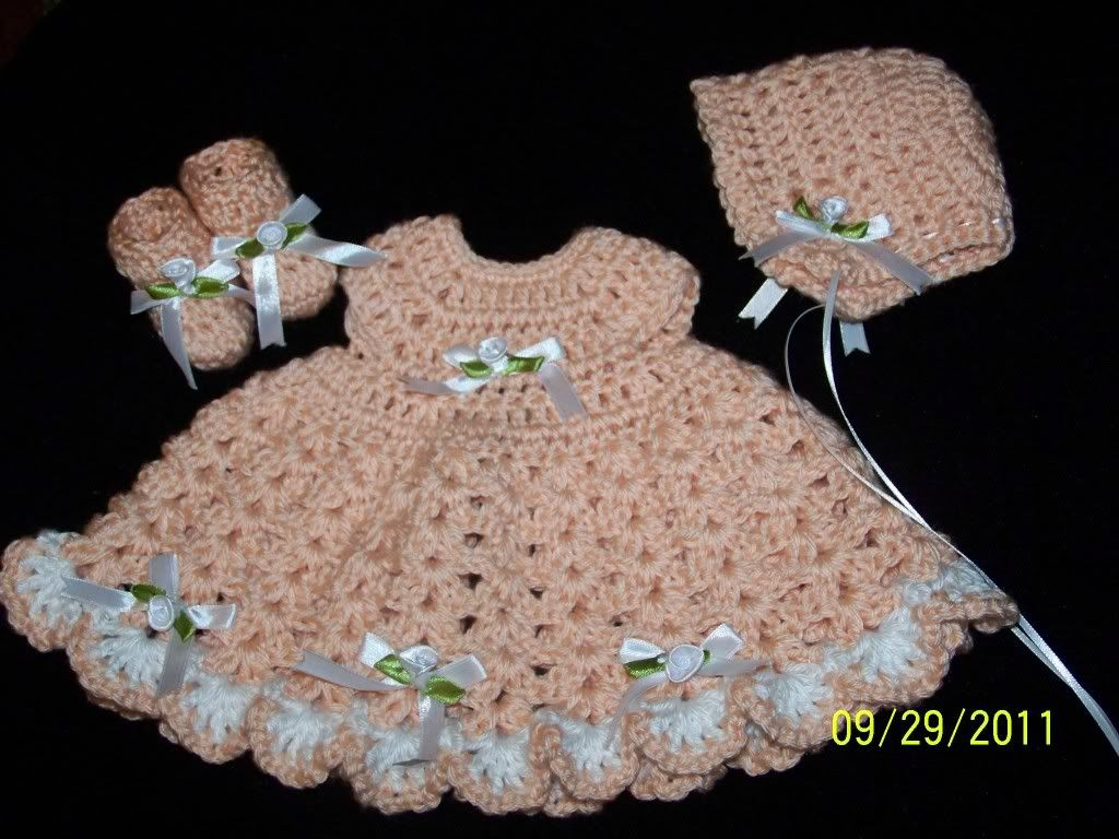 Preemie dress sets 010-8