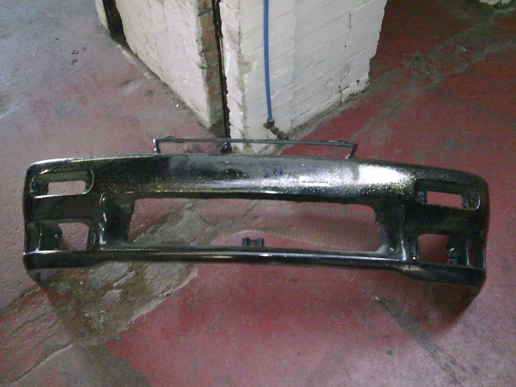 Mk2 Ph1 flushed front bumper Image028