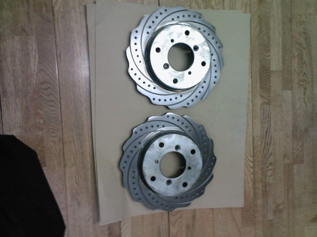 FS: Swift GTi front rotar discs (Original) Photo-0037