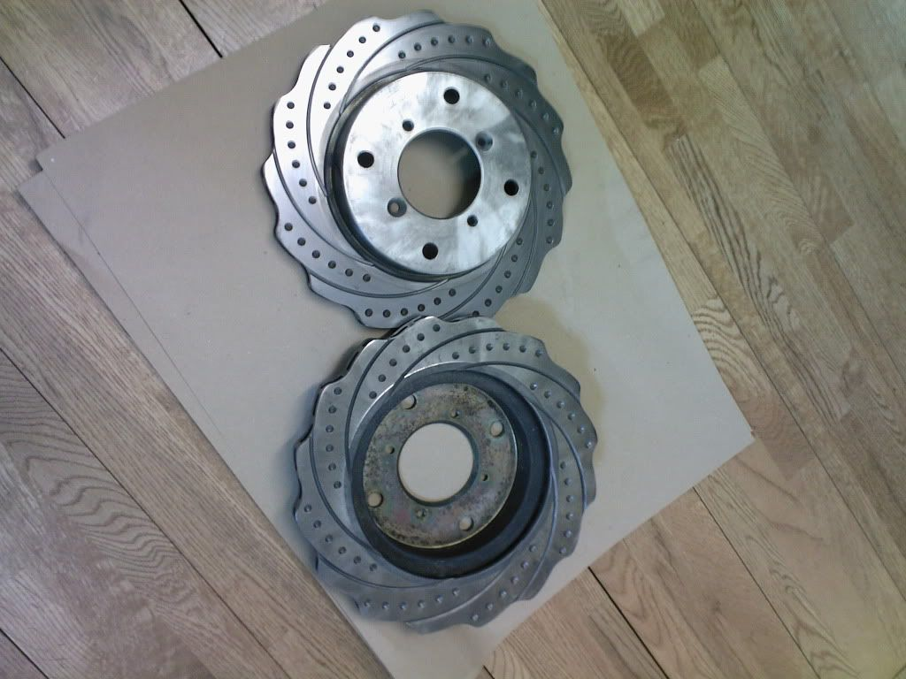 FS: Swift GTi front rotar discs (Original) Photo-0041