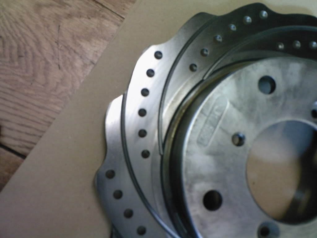 FS: Swift GTi front rotar discs (Original) Photo-0042