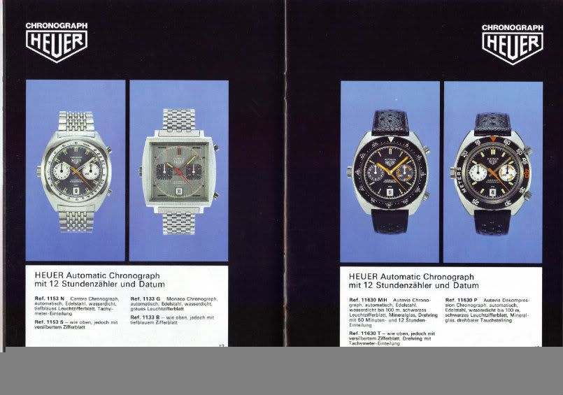 Chronographe Heuer, calibre 11 L0071-1