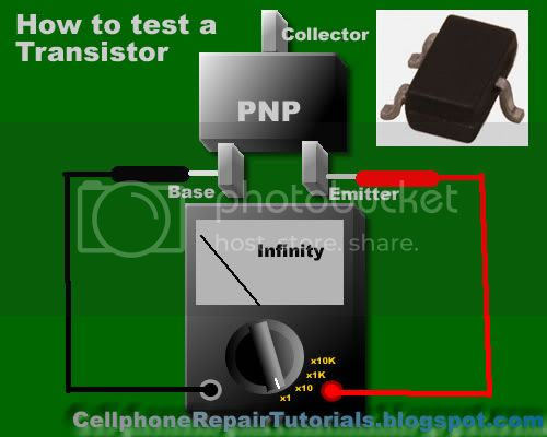 How to Check Basic Electronic Components HowtotestTransistorPNP
