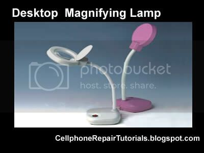 Working Table Equipments Magnifyingglass
