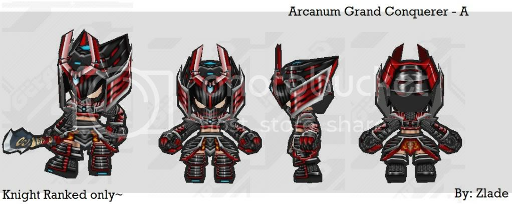 """Zlade's Armory (Skin) """"3rd Update"""" (IMPORTANT NOTE UPDATE) ArcanumGrandConquerer-A"""