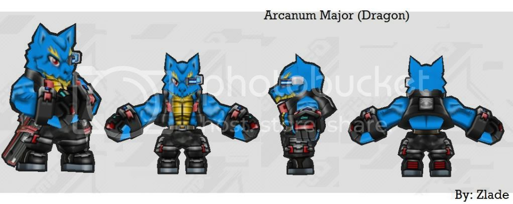 "Zlade's Armory (Skin) ""3rd Update"" (IMPORTANT NOTE UPDATE) ArcanumMajorDragon"