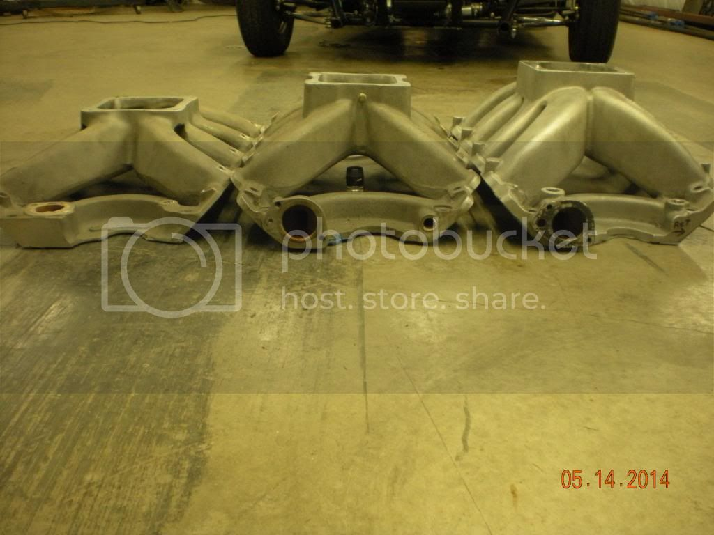 how many diff intakes for A460 single 4 Intakes001